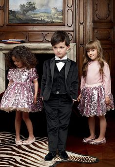 #Holiday ready! Sparkling #pink for the #ladies, elegant #black for the #boy