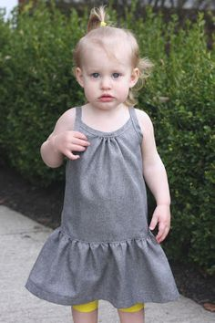 lola dress free pattern and tutorial