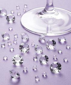 I love crystal table gems