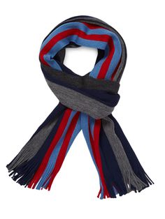Striped Scarf by Hans Kristoff at Gilt