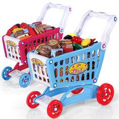 勾勾手 兒童購物車 推車玩具 超市玩具推車 手推車 過家家玩具