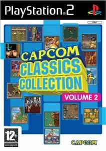 Capcom Classics Collection Vol 2 (Jogo PS2) 2006 Tamanho: 2.11GB MN /10 (No Pin it) A lista de games é: 1941 Avengers Black Tiger Block Block Captain Commando Eco Fighters King of Dragons Knights of the Round Last Duel Magic Sword Mega Twins Quiz & Dragons Side Arms Street Fighter Strider Super Street Fighter II Turbo The Speed Rumbler Three Wonders Tiger Road Varth