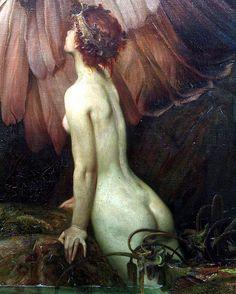 The Lament for Icarus (detail), Herbert James Draper