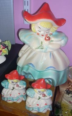 Vintage RARE Regal China Dutch Girl cookie jar by jazzejunqueinc, $595.00