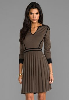 Marc by Marc Jacobs Alexis Sweater Dress in Dirty Martini