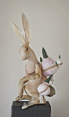 Mister Finch: Easter hares.....