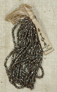 ❥ French cut beads