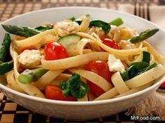 Vegetable Pasta Toss #Dinner #Recipe #Healthy