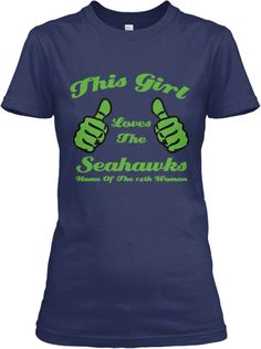 ~ This Girl Loves The Seahawks ~