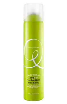 Best hairspray of all time- DevaCurl Flexible Hold.