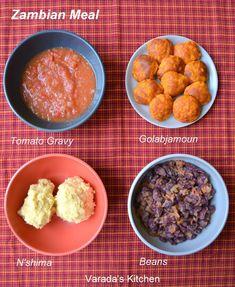 Varada's Kitchen: Zambian Meal