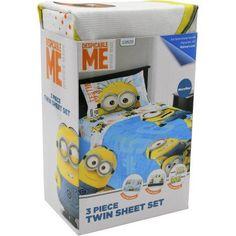 Despicable Me Minions Testing 1,2,3,4 Kids Sheet Set