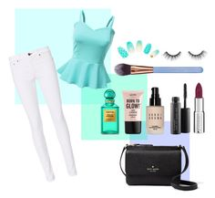"""""""Untitled #27"""" by ghostly4life on Polyvore featuring rag & bone, Doublju, Kate Spade, Givenchy, MAC Cosmetics, Bobbi Brown Cosmetics, NYX, Luxie, Tom Ford and tarte"""