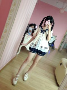 [To Alice] C098- navy suit wind bow - Taobao global Station