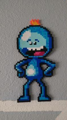 Im Mr Meeseeks, look at meeeeee! : beadsprites