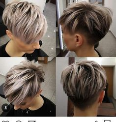 Today we have the most stylish 86 Cute Short Pixie Haircuts. We claim that you have never seen such elegant and eye-catching short hairstyles before. Pixie haircut, of course, offers a lot of options for the hair of the ladies'… Continue Reading → Funky Short Hair, Short Hair Cuts For Women, Short Hair Styles, Hairstyles Haircuts, Cool Hairstyles, Sassy Hair, Short Pixie Haircuts, Great Hair, Ombre Hair