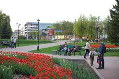 Walk in the city of Ivanovo.