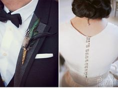 the feathers and bow-ties for guys <3