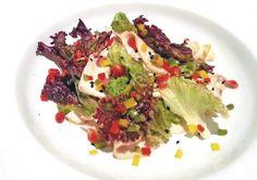 Recipe: Chef Fabio Maiano's Carpaccio Di Pollo Affumicato. Seen above: Roast Chicken Carpaccio | #Italian #Chicken #Food #Recipes