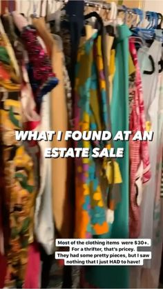 rushourfashion on Instagram: Estate sales or thrift stores? What's your pick?