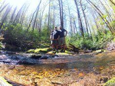 Trail Journals Photos - 2014 Appalachian Trail - big daddy and myself, around bad creek