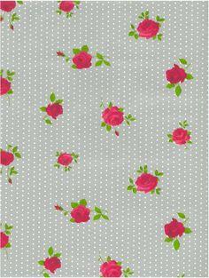 Plakfolie dots - roses zilver | Plakplastic bloemen - Tafelzeil.com
