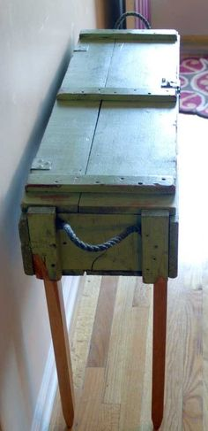 ammo box table - Google Search