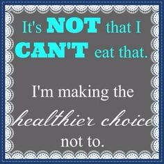 The food choices we make everyday are so vital!! Not many people are educated that all the processing and junk that goes into our convince foods are causing obesity and disease! Just by simply doing research and choosing healthier food we can make a big difference in our lives and the people around us lives! Lead by example! Be a role model! Take charge of you and your families health and make a choice to eat healthier foods. Plan meals and prep so you are never rushed to grab something bad!