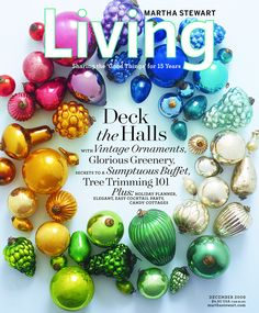 Living magazine cover
