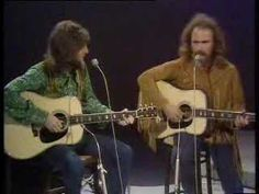 CROSBY & NASH: Simple Man and Marrakesh Express BBC 9/11/1970.  (Note - David at his very best & I have had a suede fringe jacket of one type or another throughout most of my life because of this man . . .)