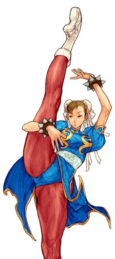 Chun Li, Street Fighter series by Nishimura Kinu Capcom Vs Snk, Cosplay Games, Character Art, Character Design, Video Games Girls, Video X, Art Anime, Chun Li, Video Game Characters
