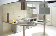 18 futuristic kitchen designs - Futuristic Kitchen