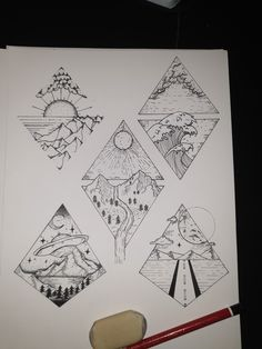 simple tattoos unique drawings