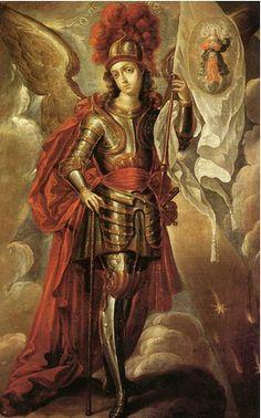 San Miguel Arcángel como protector
