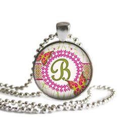 Personalized Pendant  Bridesmaid Gift by NowThatsCharming on Etsy, $14.99