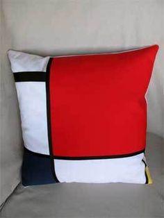 Mondrian pillow