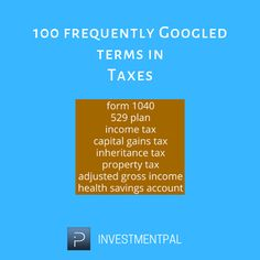 Adjusted Gross Income, 529 Plan, Capital Gains Tax, Health Savings Account, Property Tax, Income Tax, Social Media Marketing, Helpful Hints, The 100