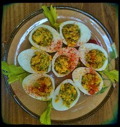Heavenly Deviled Eggs. . . HCG friendly!!