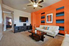 Game room: Spacious and cozy for fun with the family! Saratoga Homes, Model Homes, Siena, Game Room, Cozy, Interior, Table, Fun, Furniture