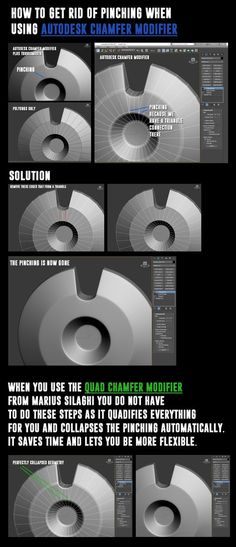 Autodek Chamfer Modifier - how to get rid of pinching - ChamferZone Zbrush Tutorial, 3d Tutorial, Modeling Techniques, Modeling Tips, 3ds Max, 1000 Word Essay, Essay Writing Competition, Hard Surface Modeling, 3d Mesh