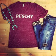 Punchy Tee ❤️