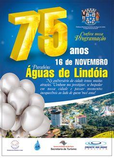 75 anos de #AguasdeLindoia #Festa #Aniversario #Evento #Brasil