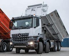 125 900 EUR Mercedes Benz Arocs, Mercedes Truck, Electric Mirror, Trucks, Commercial Vehicle, Peterbilt, Worlds Of Fun, Vehicles