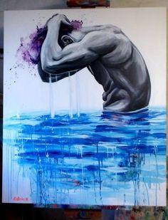 Kunstneren Natmir Lura Reflection