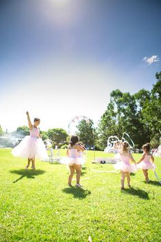 Ballerina Birthday Party. Ballet lesson...too cute!