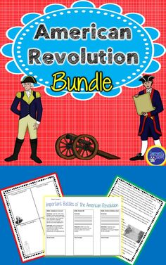 This social studies resource is a perfect addition to your American Revolution curriculum. Students will understand the causes of the American Revolution, the battles between the colonists and Great Britain and how the Americans won the war under the direction of General George Washington.
