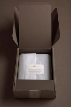 fogal luxury packaging | BEL EPOK  Love monotone or tonal branding/packaging ...feels subtle and luxurious.  Luxurious tissue paper wrap.: