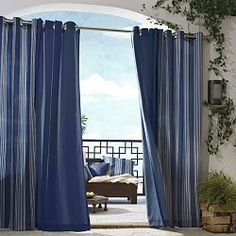 Outdoor Curtains and Drapes for the patio.  http://www.homeinfatuation.com/cat/Sun-Shades-Outdoor-Curtains.cfm