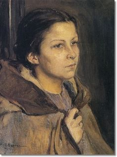 Elizabeth Nourse - Young Girl With Cape