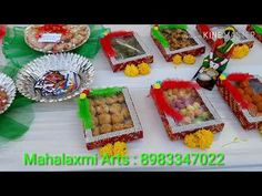 wedding rukhwat 8983347022 - YouTube Gauri Decoration, Coconut Decoration, How To Make Biscuits, Indian Dolls, Wedding Bottles, Wedding Plates, Arts And Crafts, Diy Crafts, Craft Work